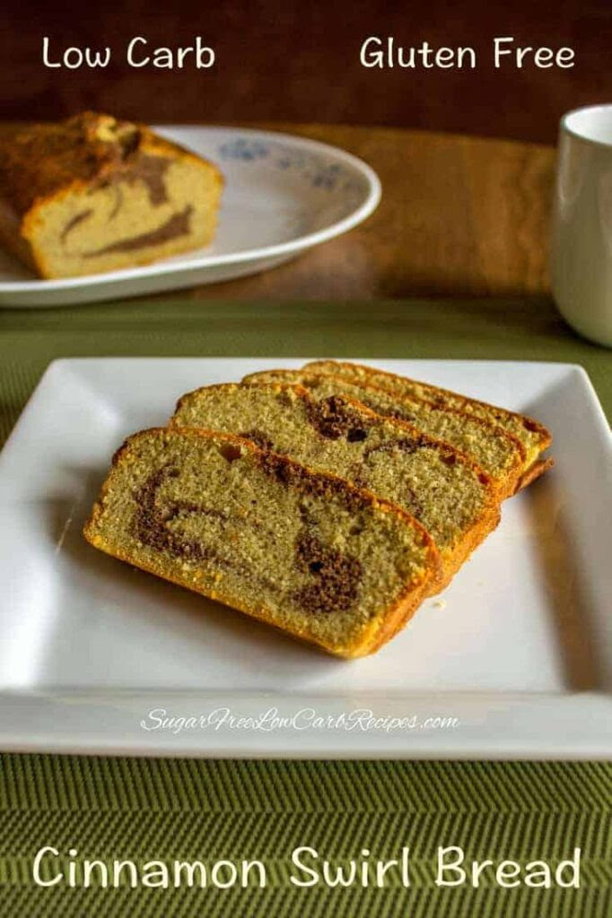 Cinnamon Swirl Bread - Gluten Free | Low Carb Yum