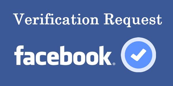 Facebook Blue Badge Verification
