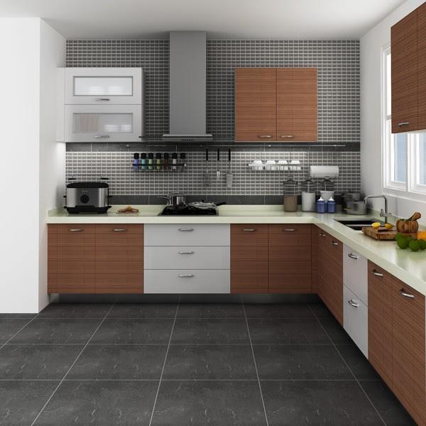 Modular Kenya Project Simple L shaped Small Kitchen