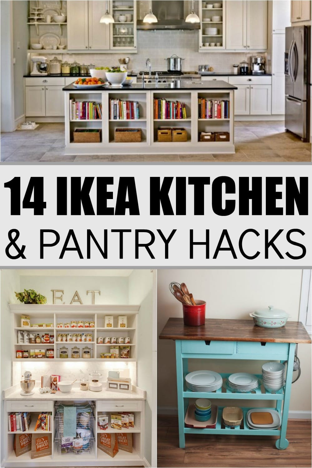 14 Ikea Hacks For Your Kitchen and Pantry - Super Foods Life