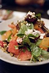 Slow Roasted Beet Salad with Humbold Fog Goat Cheese, Oola Restaurant & Bar, San Francisco