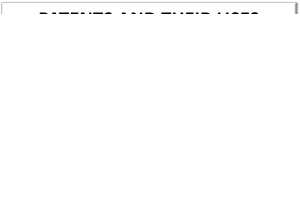 Patents and their uses