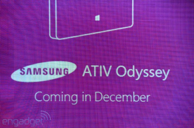 Samsung ATIV Odyssey brings more Windows Phone 8 to Verizon this December