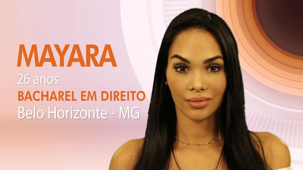 """Mayara, quinta participante do """"BBB17"""" (Foto: Globo/Divulgação)"""