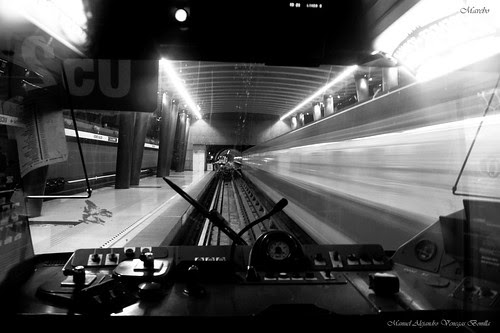Metro Santiago de Chile by Alejandro Bonilla
