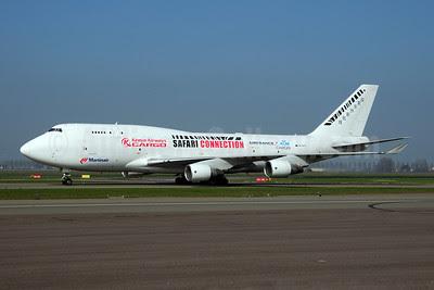 Martinair-Kenya Airways-Air France-KLM Royal Dutch Airlines Boeing 747-412 (BCF) PH-MPS (msn 24066) (Safari Connection) AMS (Ton Jochems). Image: 908092.