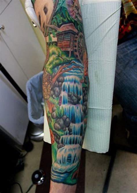 waterfall tattoos waterfall tattoo nature tattoos