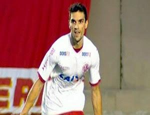 Rodrigo Pimpão, atacante do América-RN (Foto: Reprodução/Premiere FC)