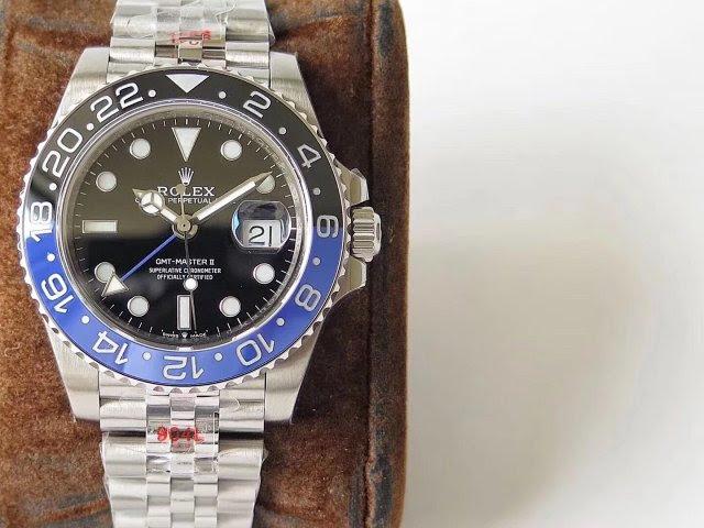 Replica Rolex GMT-Master II Black Blue Bezel