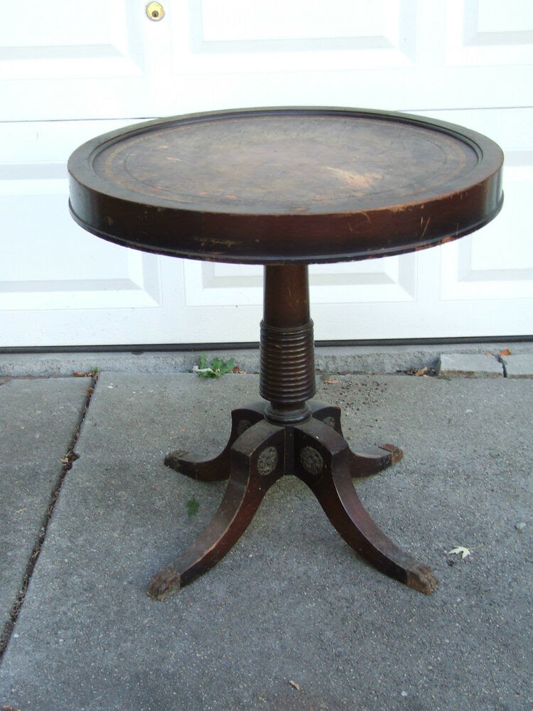 antique dining table with metal claw feet | Roselawnlutheran