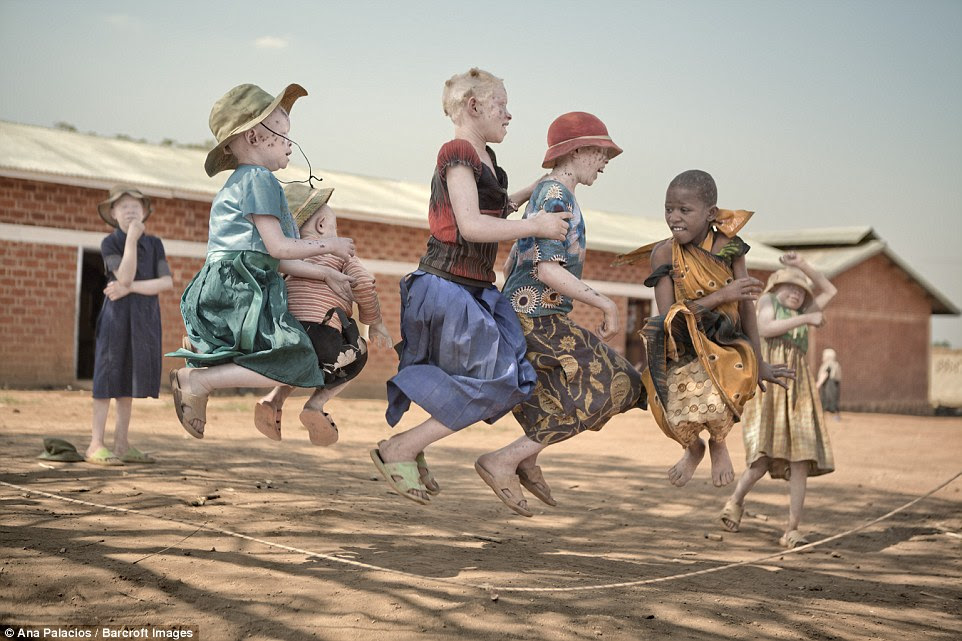 Children at the centre finish school at five in the afternoon and return to the complex where they can feel safer playing outside than in the places they are from