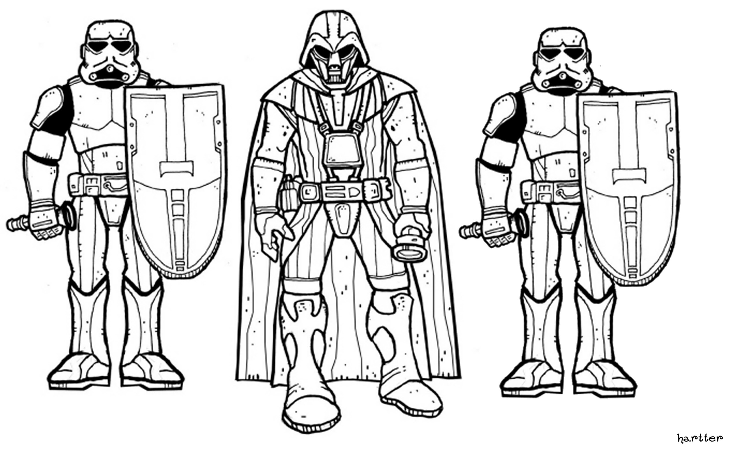 Star wars soundboard coloring pages Star Wars clone Star Wars galaxy