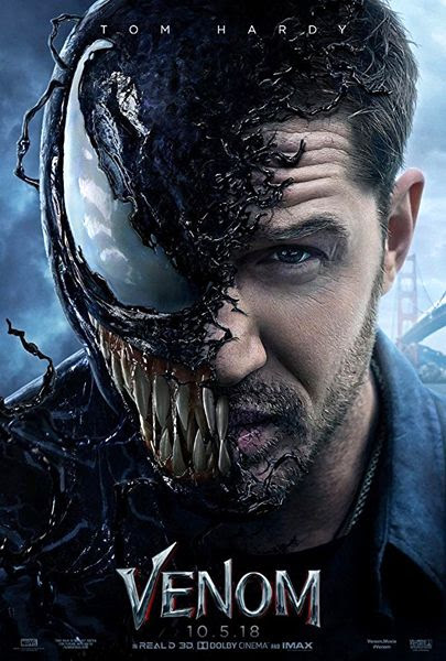 The theatrical poster for VENOM.