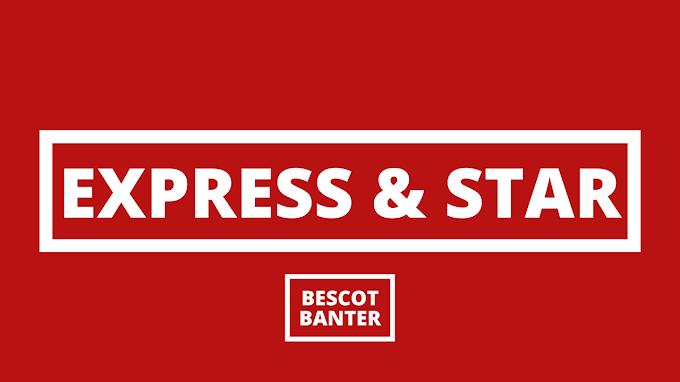 Express & Star Column: Saturday, 1st May 2021