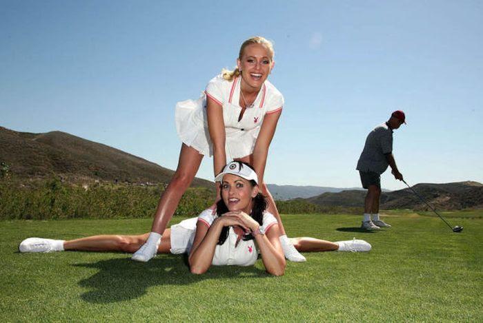Поиграем в гольф  (51 фотография)
