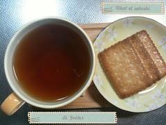 le goûter: sablés à la noix de coco et mariages frères ruschka thé
