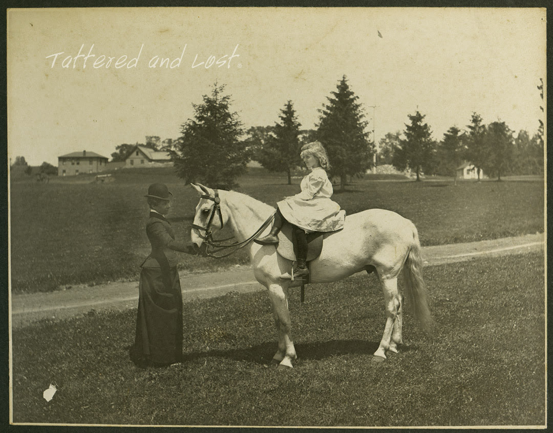 girl on horse_tatteredandlost