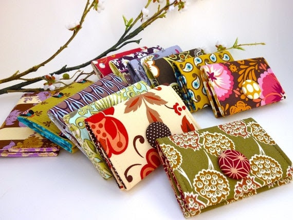 SPECIAL - 5 Card Holder/ Small Wallet Bundle