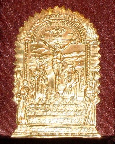 Escapulario de Oro del Señor de los Milagros 2008