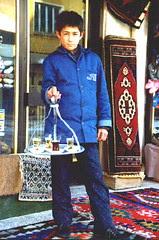 Seorang Budak Turkish Penjual Teh
