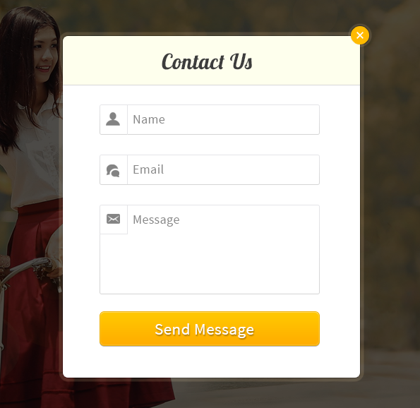 how to create popup form in html using javascript