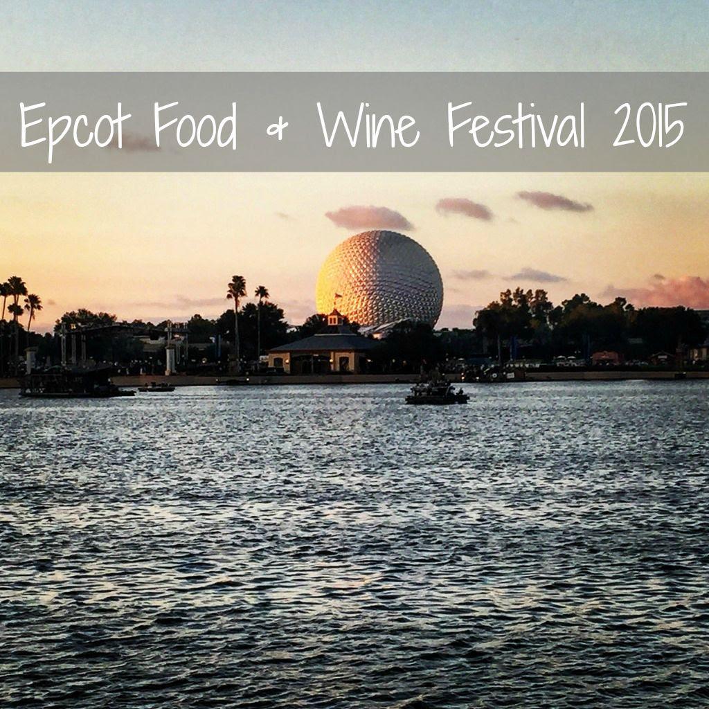 Epcot Food & Wine 2015