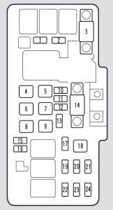 Acura Tl 2003 Fuse Box Diagram Auto Genius
