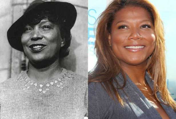 Zora Neale Hurston and Queen Latifah