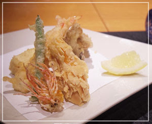 天ぷらも、趣向を凝らした香ばしさ。