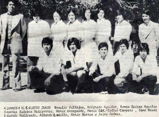 Bodas de Oro - Colegio Nac. Mixto Nocturno Junín