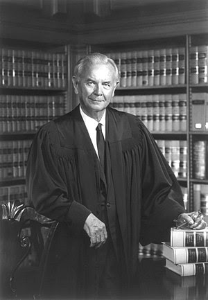 Official portrait of Justice William J. Brenna...