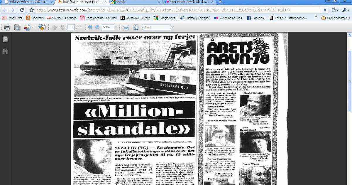 7fde85cd johncons: Den nye Svelvikferja var upopulær, da den startet, i 1978