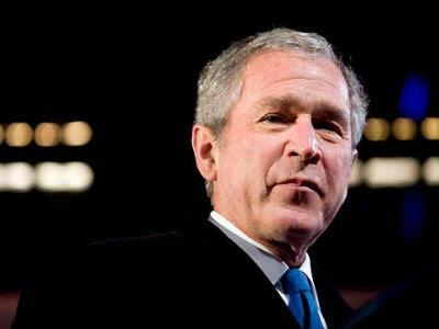 El expresidente de Estados Unidos, George W. Bush. -EFE