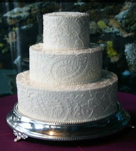 17 Best images about Paisley cakes on Pinterest   Paisley