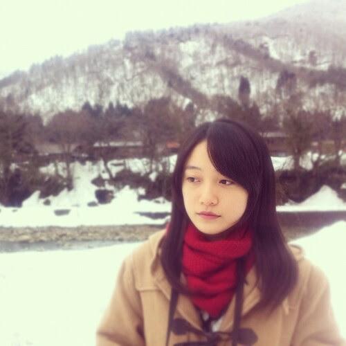 Girl in the snow. A disturbingly familiar image.