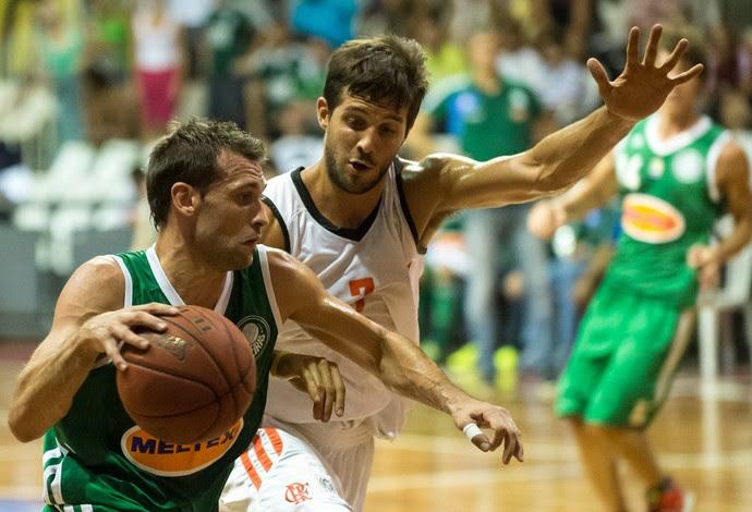 Basquete NBB - Flamengo x Palmeiras - Stanic e Laprovittola (Foto: Celso Pupo/Agência Estado)