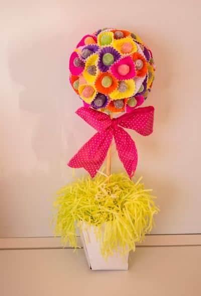 A árvore de jujuba para festa infantil é versátil e pode ser incorporada em praticamente todas as festas (Foto: Divulgação)