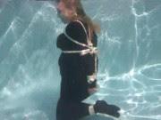 Danger Theatre: Trina Mason Underwater Bondage