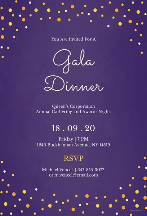 Dinner Invitation Template   44  Free PSD, Vector EPS, AI