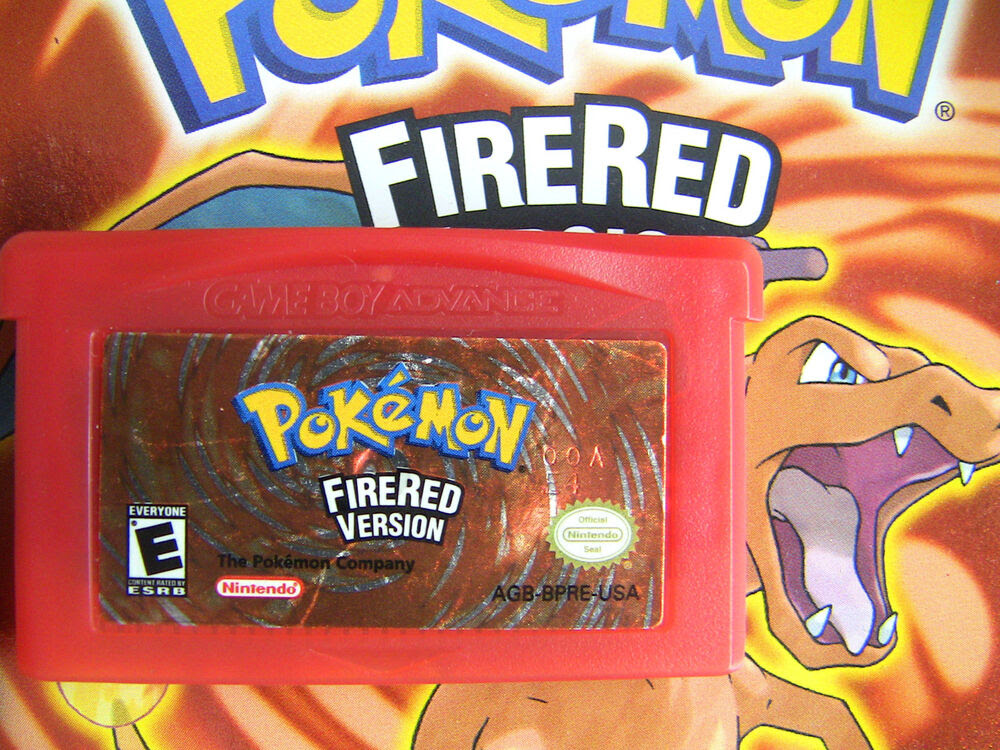 Pokedit Pokemon FireRed Fire Red Used DS GBA All 386 Edit