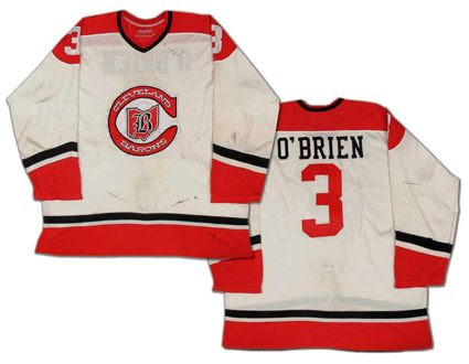 Cleveland Barons 77-78 jersey