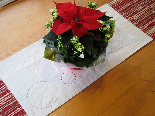 New holiday table runner '10 by Poppyprint