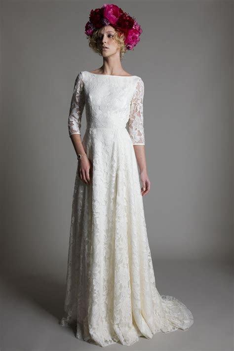 25  Best Ideas about Boat Neck Wedding Dress on Pinterest