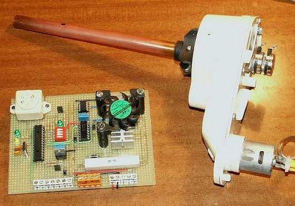 robot-servomotor-kiểm soát-i2c-bus-thông qua-tầm trung-pic-vi điều khiển