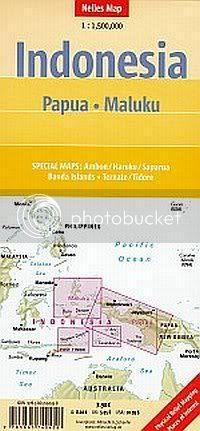 Karte Molucca Sea