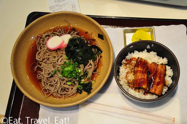 Miyabi-Tei Soba Noodles and Eel Rice Combo