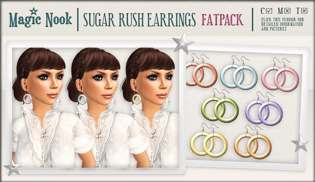 [MAGIC NOOK] Sugar Rush Earrings