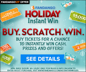 Fandango Instant Win Promotion