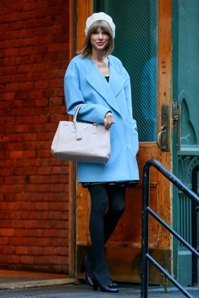 Taylor Swift is seen in New York City.