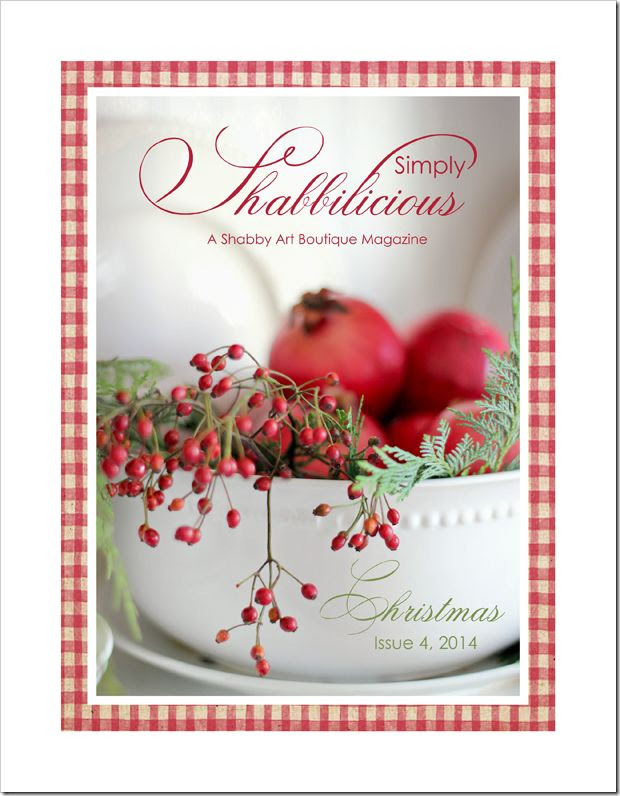 Simply Shabbilicious Magazine… the Christmas issue - Shabby Art Boutique